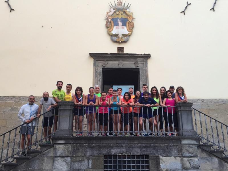 Gruppo prova Notturna 2016 foto 1