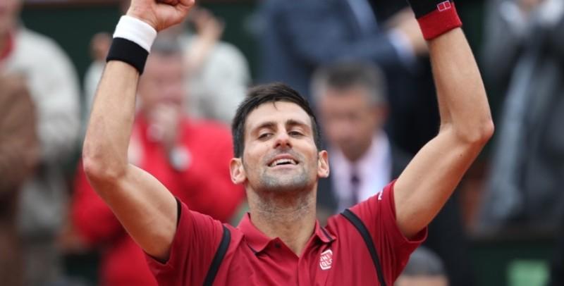festa Djokovic Roland Garros 2016, foto Patrick Boren