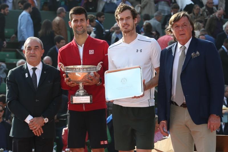 premiazioni Roland Garros 2016, foto Patrick Boren