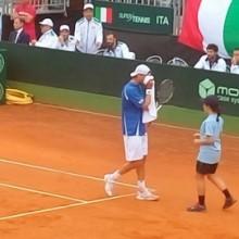Delbonis firma il vantaggio Argentina contro l'Italia in Coppa Davis