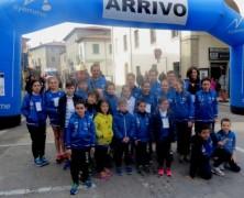 Grandi risultati per i giovani dell'Atletica Avis Sansepolcro a Rassina