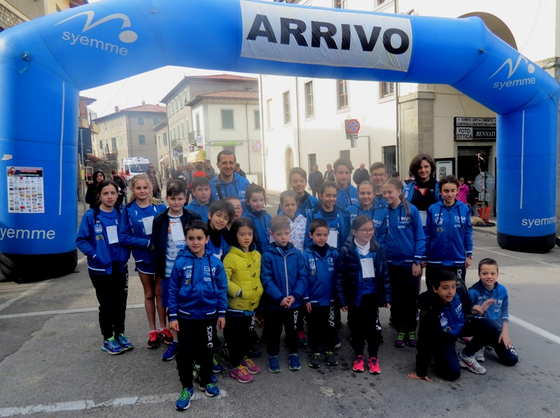 giovani Atletica Avis a Rassina 19.3.17 foto 1