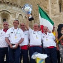 Il GS Ruzzola Valtiberina ha conquistato il Campionato Italiano a Squadre di Rulletto