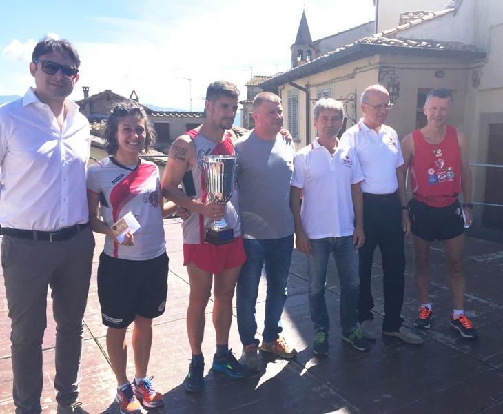 Gli anghiaresi Mirko Matteagi e Valeria Olandesi premiati nel Trofeo Fratres Città di Anghiari
