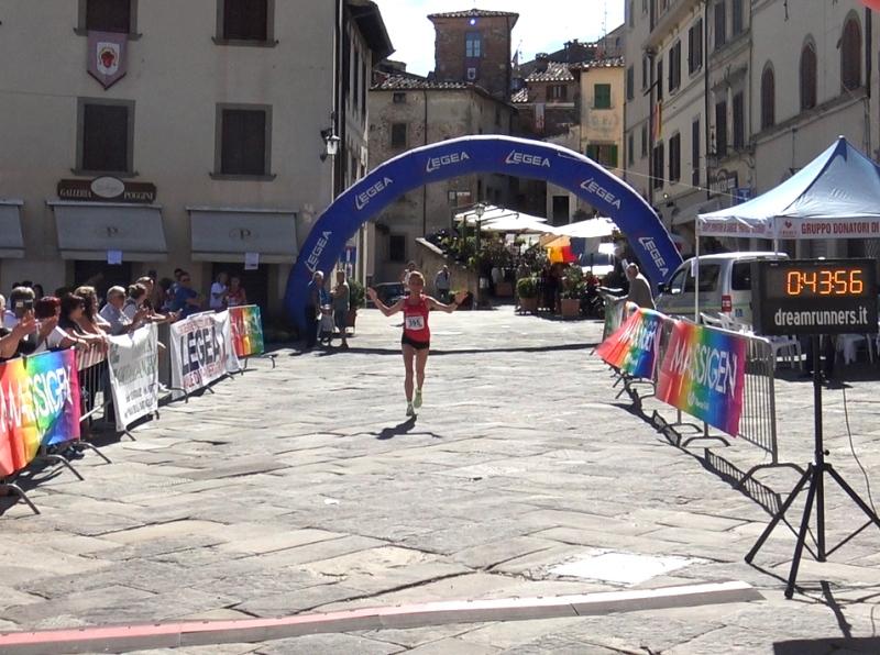 Roberta Belardinelli regina del 5° Trofeo Fratres Città di Anghiari