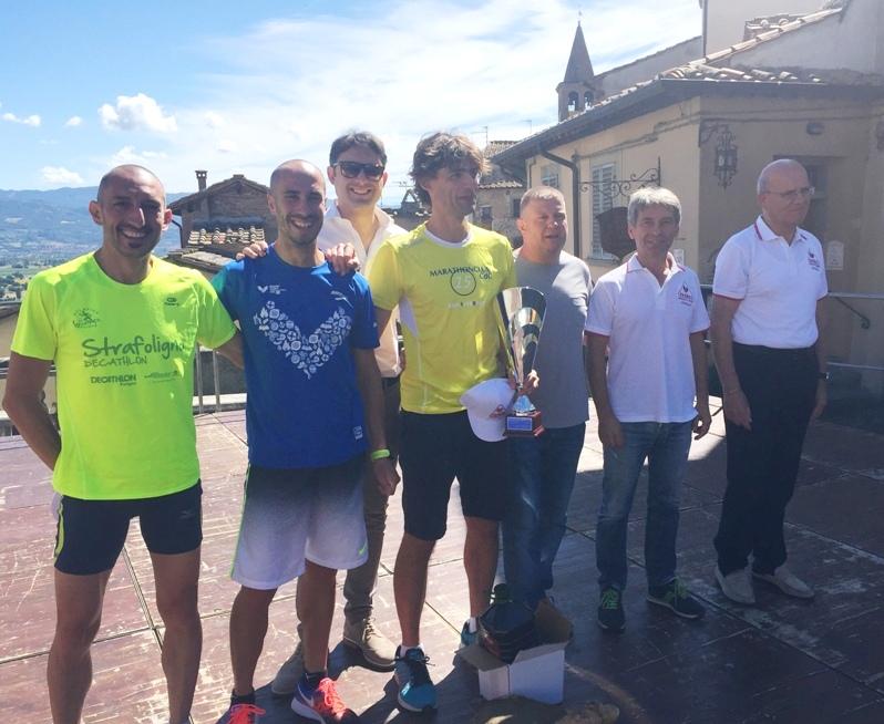 podio maschile 5° Trofeo Fratres Città di Anghiari