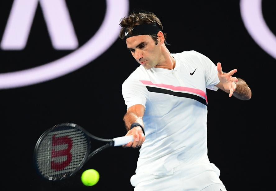 Federer vince in Australia, Photo Ben Solomon - Tennis Australia.
