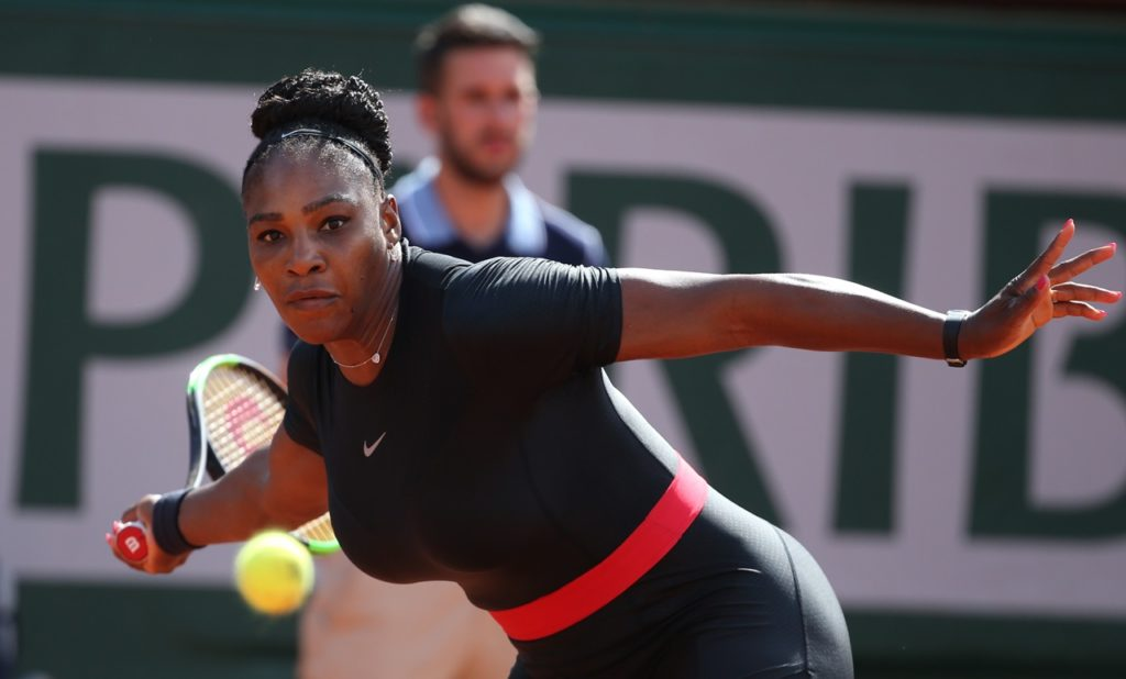 Serena Williams Roland Garros 2018, foto Patrick Boren