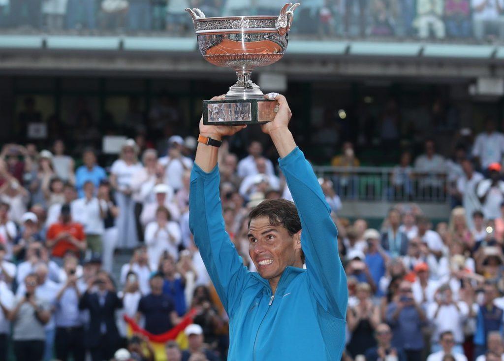 Nadal trionfo Roland Garros 2018, foto 2 di Patrick Boren