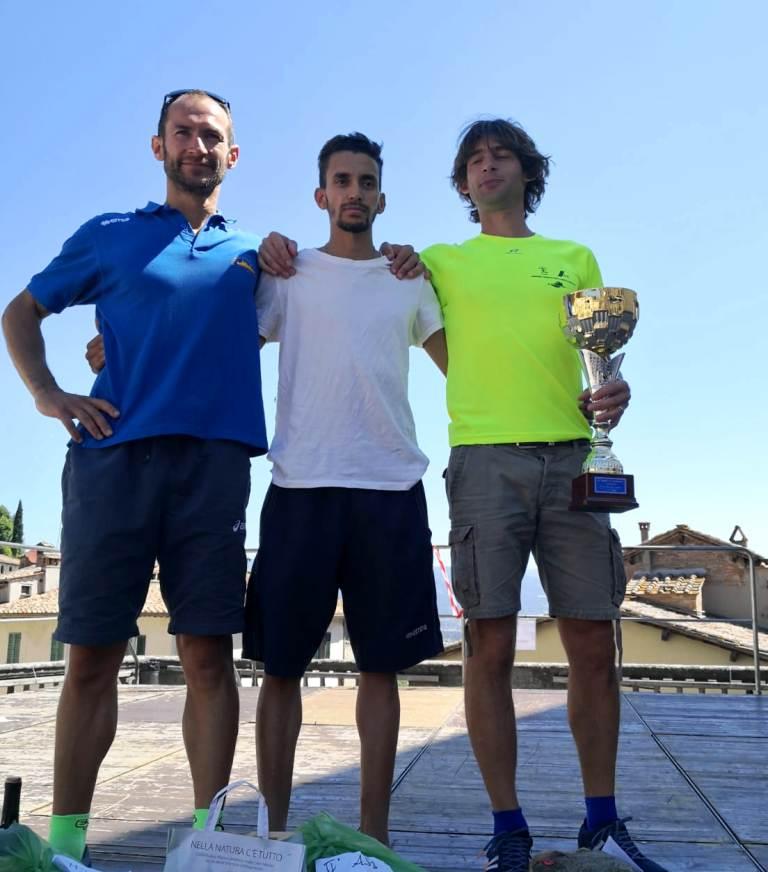 Podio maschile Trofeo Fratres Anghiari 2018