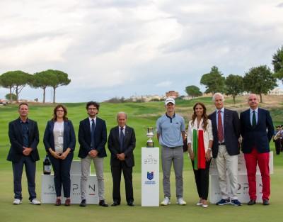 Cerimonia di premiazione Open d'Italia